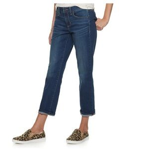 Sonoma Supersoft Stretch Capri Jeans
